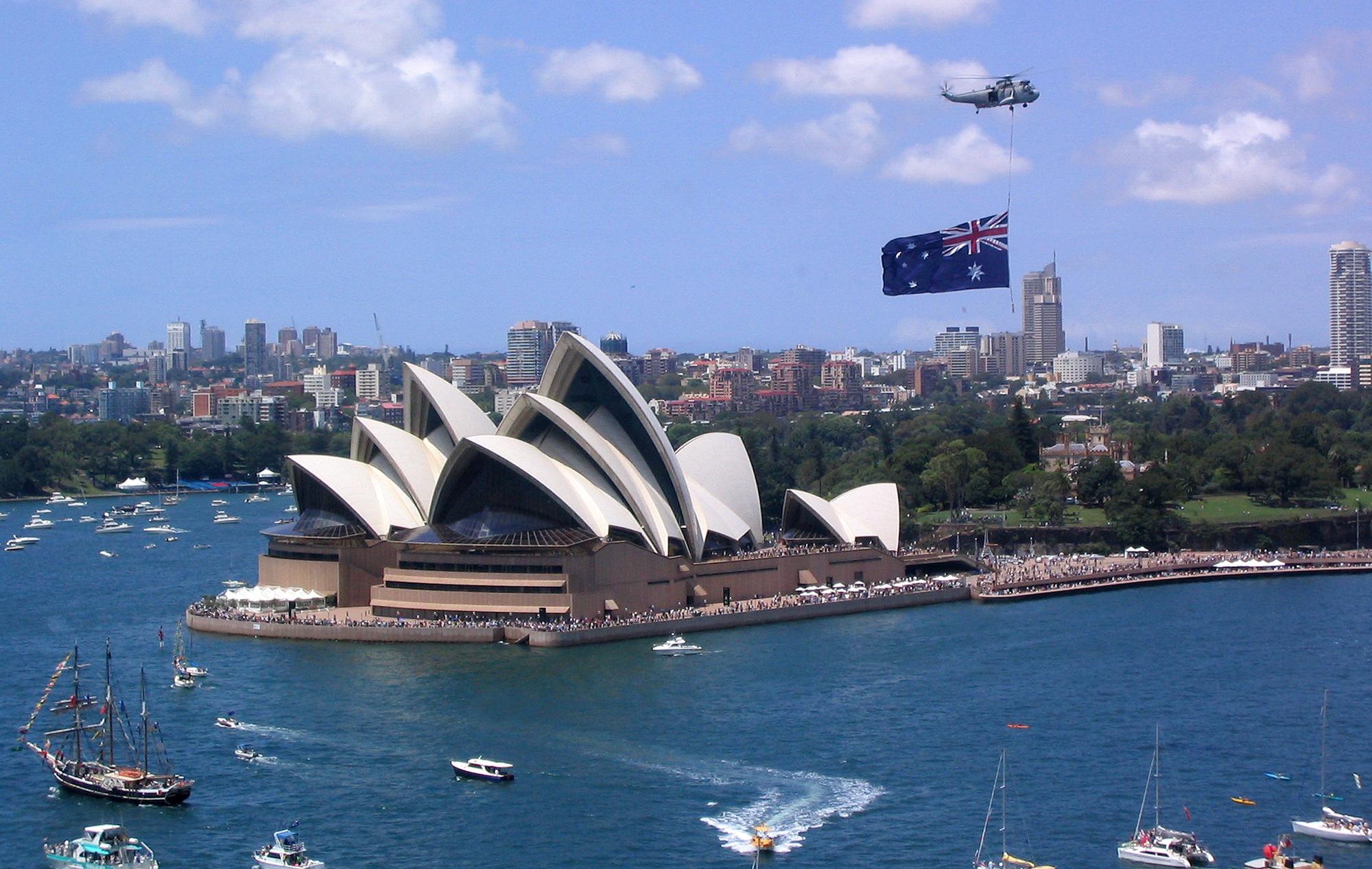 Chuyển phát nhanh quốc tế đi Úc