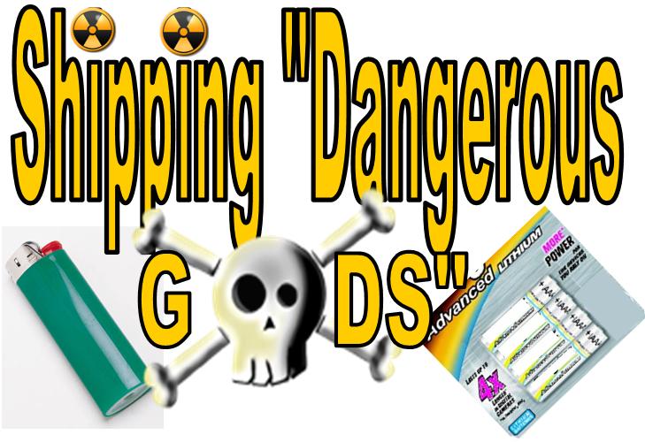 Gửi chuyển phát nhanh hàng hóa nguy hiểm