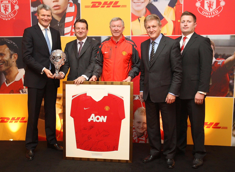 DHL trở thành nhà tài trợ của Manchester United
