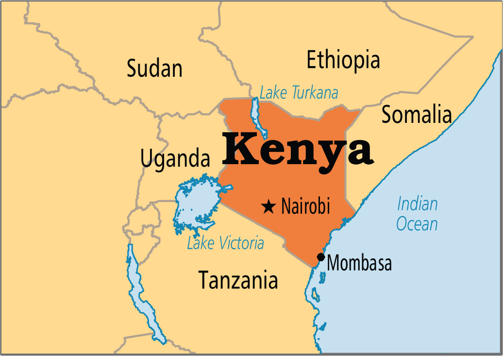 Gửi hàng hóa chuyển phát nhanh đi Kenya