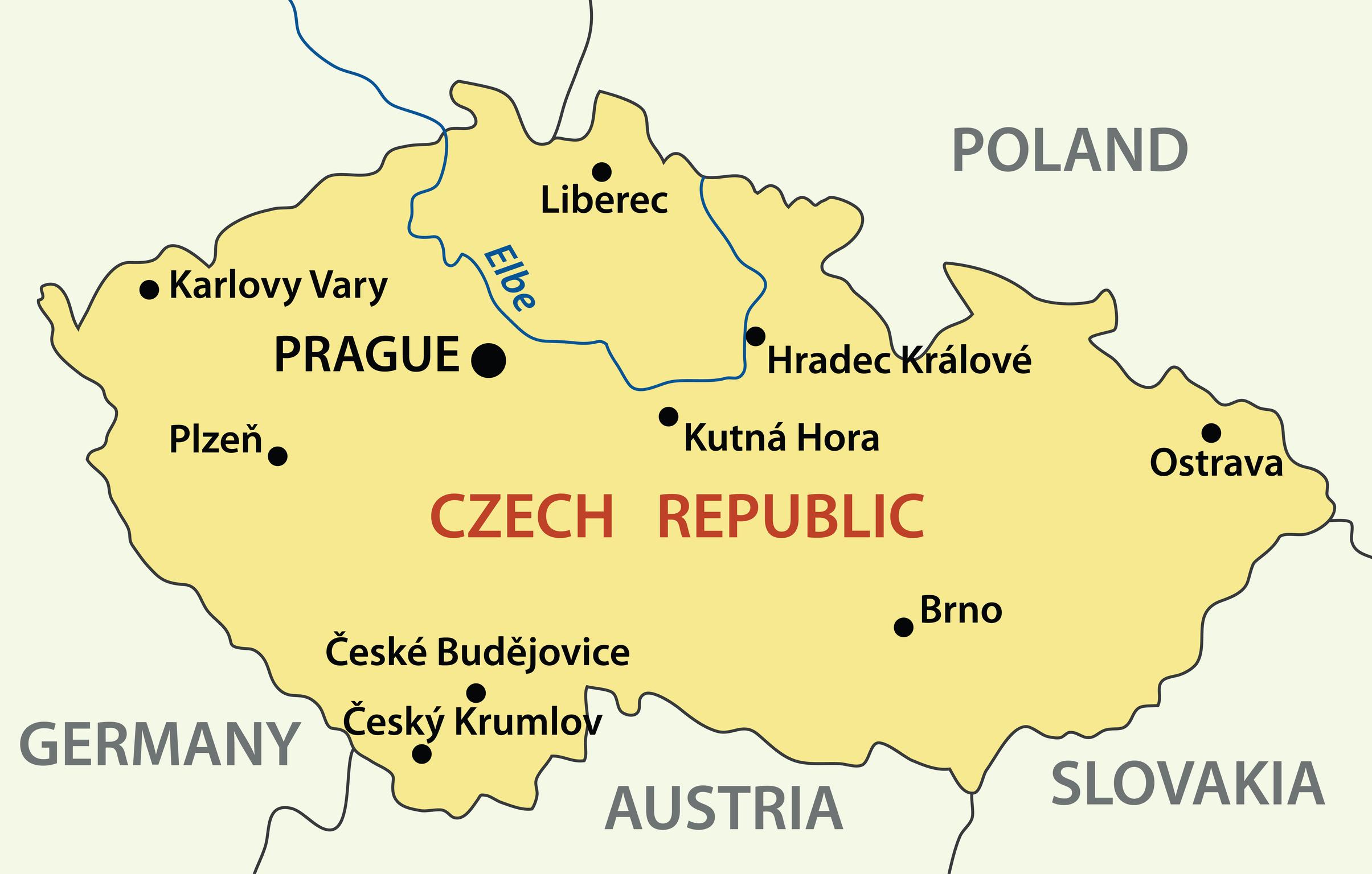 Gửi chuyển phát hàng hóa thư từ tài liệu đi Séc-Czech
