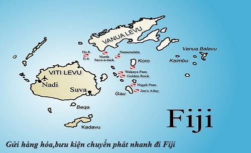 Gửi hàng hóa,bưu kiện chuyển phát nhanh đi Fiji